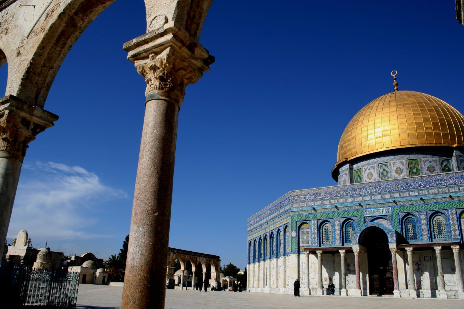 Palestinian Surprises Dome Of The Rock